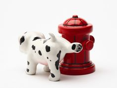 dalmation salt and pepper shakers - Google Search