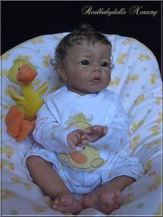 Reborn nr 105 /Custom order/Luca E.Knoops & E.Marx - Realbabydolls Nursery