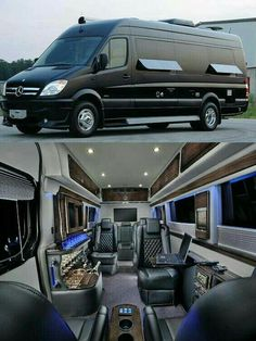 When you have a minivan, you can do many things into it since it gives you a spacious spot. You can create your camping minivan to have fun with your family. This minivan can serve you the camping ideas due… Continue Reading → Mini Vans, Luxury Van, Luxury Life, Luxury Rv Living, Van Camping, Luxury Motorhomes, Monospace, Camping Organization, Organization Ideas