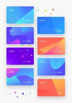 Showcase of Creative Designs Made with Vibrant Gradients Game Design, App Ui Design, Mobile App Design, Interface Design, Layout Design, Cv Web, Ui Color, Gradient Color, Card Ui