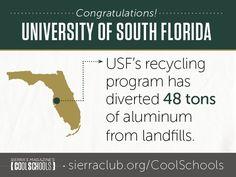 #7 University of South Florida | Cool Schools 2014 - sc.org/2014Top10