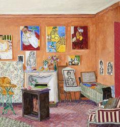 Damian Elwes (British, b.1960) Paintings of Matisse's studios/apartments