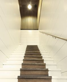 partially painted stairs - Bellerose, Brussels