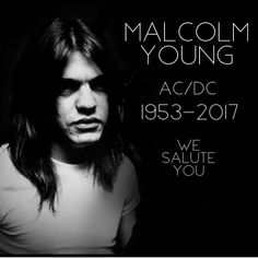 RIP AC/DC founder, Malcolm Young. We Salute You.     *Image courtesy of Lucky Hurricane