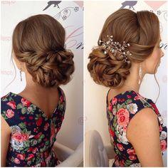 Bridal trial Web: www.elstile-spb.ru, #wedding #bride #realbride #bridal #braid #hair #bridalmakeup #bridalhairstyle #hairdo #hairstyle #gorgeous #elstile #noiva #boda #novia #updo #messy #pretty #buns #sposa #bohobride #ponytail