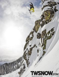 Travis Rice PHOTO: Scott Serfas   Wallpaper Wednesdays: Verticle Images for Your Smartphone!   TransWorld SNOWboarding
