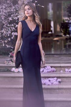 Buy Lipsy V neck Cowl Back Maxi Dress from the Next UK online shop 6bdb24af9