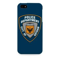 Dark Knight-Batman Gotham Police Department Apple I phone 5 & 5S case (Officially Licensed)