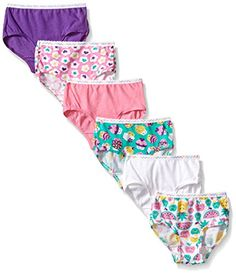 Fruit of the Loom Little Girls' Wardrobe Brief (Pack of Six): Fruit of the Loom Brief, Wardrobe, 6 pk-Multicolor Colors may vary. Let us pick for you. Fashion Deals, Latest Fashion Trends, Shirt Hair, Briefs Underwear, Girls Wardrobe, Fruit Of The Loom, Little Girls, Gym Shorts Womens, Girl Outfits