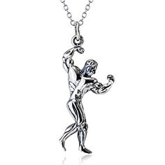 perfect fine gift for father's day  Pray your love dad be strong and health. muscle man sports pendant  925 Sterling Silver Muscle Man Bodybuilder Pendant Biceps... http://www.amazon.com/dp/B019F3UG7Y/ref=cm_sw_r_pi_dp_jDXgxb0E5HSZ0
