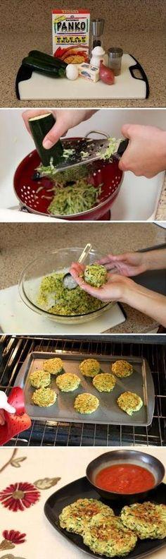 Zucchini Cakes by marta