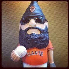 Brian Wilson fear the beard garden gnome. ❤ it