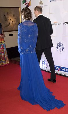 Kate Middleton stuns in Jenny Packham as she and Prince William attend Bollywood gala - HELLO! US