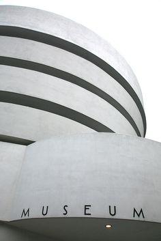 The Guggenheim Museum. Frank Lloyd Wright.