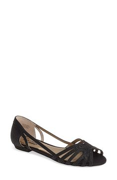 Seychelles 'Would I Lie' Open Toe Flat (Women) available at #Nordstrom