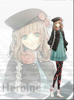Amnesia anime. Heroine