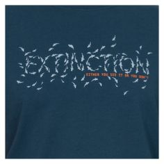 "Project AWARE T-shirts ""Extinction - Either you see it or your don't"" #FourthElement £24.95"