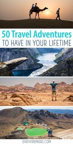 50 best travel adven