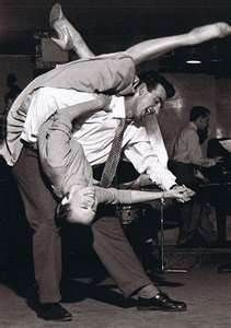 1950s - French dip.  Somebody did this to me at a high school dance and dropped me.
