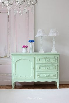 not this particular color but the dresser is basically similar in size and placement of drawers and door ....maybe a navy blue?