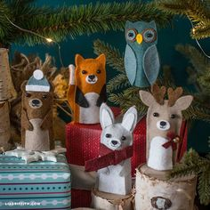 Make this set of DIY woodland finger puppets for a fun crafting activity to do with your kids! Follow our 10 minute video tutorial to learn how to make them