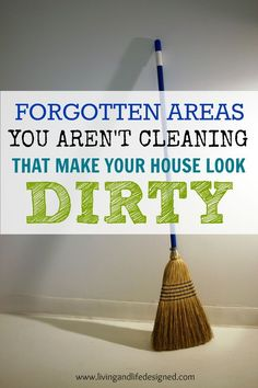 I always forget to clean these spots - definitely adding them to our routine starting now! This is a great reminder