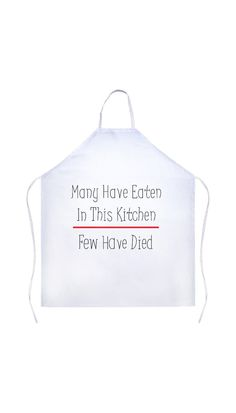 Many Have Eaten In This Kitchen Funny Kitchen Apron Funny Aprons, Cute Aprons, Cute Quotes, Funny Quotes, Painting Apron, Kitchen Humor, Funny Kitchen, Towel Apron, Baking Apron