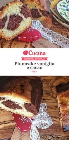 #Plumcake #vaniglia e #cacao della nostra utente Alice. Unisciti alla nostra Community ed invia le tue ricette!