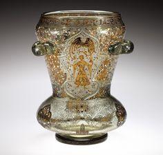 Emile Galle - Islamic-style Vase with Djinn.