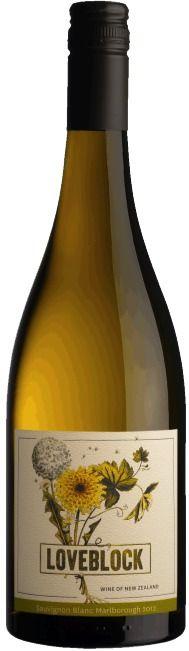 Sauvignon blanc 2012 - LoveBlock Wines, South Island ------------------------------- Terroir: Marlborough - South Island