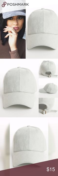 🆕 Listing: Faux Suede Cap Beautiful Mint Faux Suede Adjustable Cap. Imported. Accessories Hats