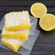 Lemon Bars| Pick Fresh Food