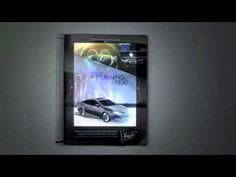 Lexus Print Ad with iPad & CinePrint Technology - iUsed.gr