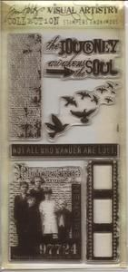 *Tim Holtz Visual Artistry LOST AND FOUND Clear Stamps Set CSS25887 ⭐