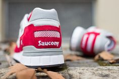 Saucony Shadow 5000 Grey Red (1)