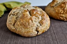 Brown butter whole wheat soda bread - what will be going with my fall soups and stews...minus that nasty rosemary...