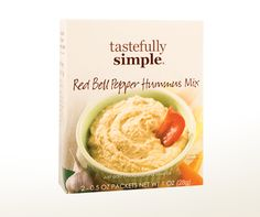 Red Bell Pepper Hummus Mix