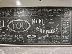 chalk lettering by Rajiv Surendra