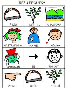 Pro Šíšu: Básničky i pro autíky Montessori, Comics, Czech Republic, Logos, Logo, Cartoons, Comic, Bohemia, Comics And Cartoons