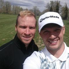Brian Littrell just out drove me. We're having a blast golfing. -Nick Carter http://instagram.com/p/oB7d7ROChz/