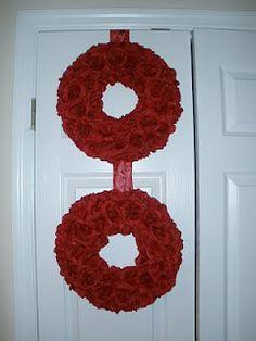 Roses from Dollar Tree...