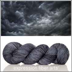 OMINOUS 'RESILIENT' SUPERWASH MERINO SOCK - Expression Fiber Arts, Inc.