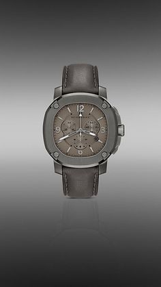 The Britain BBY1105 47mm Chronograph   Burberry