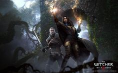 The Art Of The Witcher 3, Geralt of Rivia and Yennefer of Vengerberg