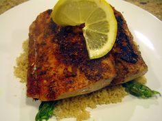 Pan Seared and Blackened Mahi Mahi, made this tonight and it was fantastic....i think i actually like fish now