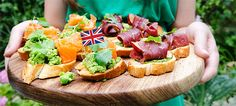 6 Brit-Inspired Appetizers (for your next Downton Abbey party!) // Via Health Beauty Life