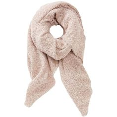 Charlotte Russe Boucle Blanket Scarf ($9.09) ❤ liked on Polyvore featuring accessories, scarves, blush, blanket scarf, charlotte russe scarves, lightweight scarves, charlotte russe and lightweight shawl