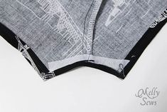 無料パターンとMelly縫っによって9男の子ロンパースステップ