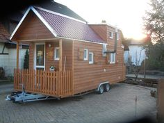 Tiny House Rheinau, Tiny Houses, Shed, Outdoor Structures, Small Homes, Little Houses, Small Houses, Miniature Houses, Tiny Cabins