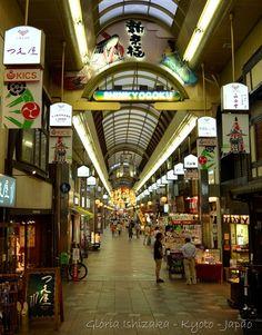 Shinkyogoku Shopping Arcade, off of Shijo Street in Kyoto - Souvenirs Galore!